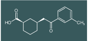 cis-3-[2-(3-methylphenyl)-2-oxoethyl]cyclohexane-1-carboxylic acid