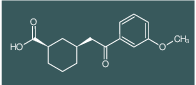 cis-3-[2-(3-methoxyphenyl)-2-oxoethyl]cyclohexane-1-carboxylic acid