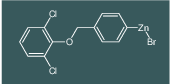 4-(2,6-dichlorophenoxymethyl)phenylzinc bromide