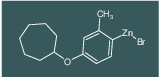 4-CYCLOHEPTYLOXY-2-METHYLPHENYLZINC BROMIDE