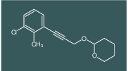 2-[3-(3-Chloro-2-methyl-phenyl)-prop-2-ynyloxy]-tetrahydro-pyran