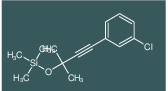 [3-(3-Chloro-phenyl)-1,1-dimethyl-prop-2-ynyloxy]-trimethyl-silane