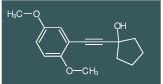 1-(2,5-Dimethoxy-phenylethynyl)-cyclopentanol