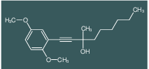1-(2,5-Dimethoxy-phenyl)-3-methyl-non-1-yn-3-ol