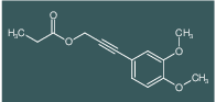 Propionic acid 3-(3,4-dimethoxy-phenyl)-prop-2-ynyl ester