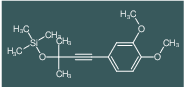 [3-(3,4-Dimethoxy-phenyl)-1,1-dimethyl-prop-2-ynyloxy]-trimethyl-silane