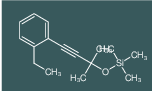 [3-(2-Ethyl-phenyl)-1,1-dimethyl-prop-2-ynyloxy]-trimethyl-silane