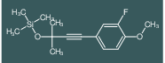 [3-(3-Fluoro-4-methoxy-phenyl)-1,1-dimethyl-prop-2-ynyloxy]-trimethyl-silan