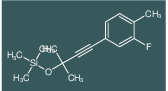 [3-(3-Fluoro-4-methyl-phenyl)-1,1-dimethyl-prop-2-ynyloxy]-trimethyl-silane
