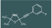 [3-(3-Fluoro-phenyl)-1,1-dimethyl-prop-2-ynyloxy]-trimethyl-silane