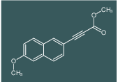 (6-Methoxy-naphthalen-2-yl)-propynoic acid methyl ester