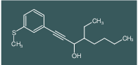 4-Ethyl-1-(3-methylsulfanyl-phenyl)-oct-1-yn-3-ol
