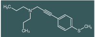 [3-(4-Methylsulfanyl-phenyl)-prop-2-ynyl]-dipropyl-amine