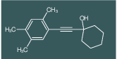 1-(2,4,5-Trimethyl-phenylethynyl)-cyclohexanol