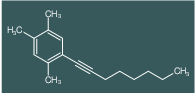 1,2,4-Trimethyl-5-oct-1-ynyl-benzene