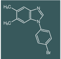 1-(4-Bromo-phenyl)-5,6-dimethyl-1H-benzoimidazole