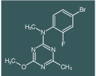 (4-Bromo-2-fluoro-phenyl)-(4-methoxy-6-methyl-[1,3,5]triazin-2-yl)-methyl-a