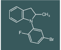 1-(5-Bromo-2-fluoro-phenyl)-2-methyl-2,3-dihydro-1H-indole