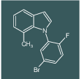 1-(5-Bromo-2-fluoro-phenyl)-7-methyl-1H-indole