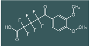 5-(3,4-Dimethoxy-phenyl)-2,2,3,3,4,4-hexafluoro-5-oxo-pentanoic acid