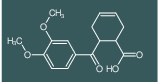 6-(3,4-Dimethoxy-benzoyl)-cyclohex-3-enecarboxylic acid