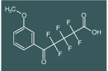 2,2,3,3,4,4-Hexafluoro-5-(3-methoxy-phenyl)-5-oxo-pentanoic acid