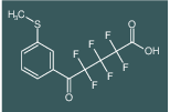 2,2,3,3,4,4-Hexafluoro-5-(3-methylsulfanyl-phenyl)-5-oxo-pentanoic acid