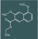 3,5-Dimethoxy-naphthalene-2-carboxylic acid ethyl ester