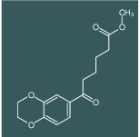 methyl 6-(2,3-dihydrobenzo[b][1,4]dioxin-6-yl)-6-oxohexanoate