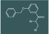 1-(3-(benzyloxy)phenyl)-2,3-dibromopropan-1-one
