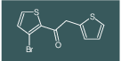 1-(3-bromothiophen-2-yl)-2-(thiophen-2-yl)ethanone
