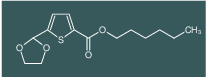 Hexyl 5-(1,3-Dioxolan-2-yl)-2-thiophenecarboxylate