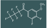 1-(3,4-difluoro-5-methoxyphenyl)-2,2,3,3,4,4,4-heptafluorobutan-1-one