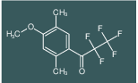 2,2,3,3,3-Pentafluoro-1-(4-methoxy-2,5-dimethyl-phenyl)-propan-1-one