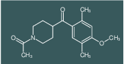 1-(4-(4-methoxy-2,5-dimethylbenzoyl)piperidin-1-yl)ethanone