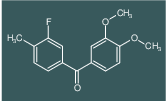 (3,4-dimethoxyphenyl)(3-fluoro-4-methylphenyl)methanone