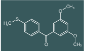 (3,5-dimethoxyphenyl)[4-(methylsulfanyl)phenyl]methanone