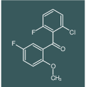 (2-Chloro-6-fluoro-phenyl)-(5-fluoro-2-methoxy-phenyl)-methanone