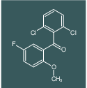 (2,6-Dichloro-phenyl)-(5-fluoro-2-methoxy-phenyl)-methanone