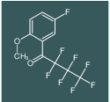 2,2,3,3,4,4,4-heptafluoro-1-(5-fluoro-2-methoxyphenyl)butan-1-one