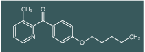 3-Methyl-2-(4-pentyloxybenzoyl)pyridine