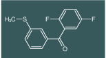 (2,5-Difluoro-phenyl)-(3-methylsulfanyl-phenyl)-methanone