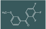 (3-Methylsulfanyl-phenyl)-(2,3,4-trifluoro-phenyl)-methanone