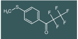 2,2,3,3,3-Pentafluoro-1-(4-methylsulfanyl-phenyl)-propan-1-one