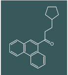 3-cyclopentyl-1-(phenanthren-9-yl)propan-1-one