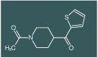 1-(4-(thiophene-2-carbonyl)piperidin-1-yl)ethanone