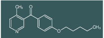 4-Methyl-3-(4-pentyloxybenzoyl)pyridine