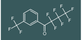 2,2,3,3,4,4,4-heptafluoro-1-(3-(trifluoromethyl)phenyl)butan-1-one