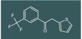 2-(thiophen-2-yl)-1-(3-(trifluoromethyl)phenyl)ethanone