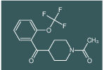 1-(4-(2-(trifluoromethoxy)benzoyl)piperidin-1-yl)ethanone